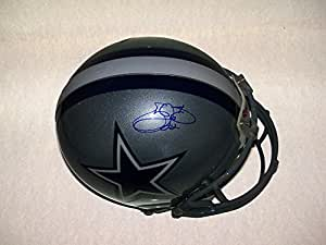 Emmitt Smith Signed Dallas Cowboys Authentic Riddell On Field Full Size Helmet PSA DNA Prova