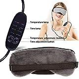 fatigue USB Eye Mask, USB Electric Heated Steam Eye Mask, Soothing Eye Stress, Eye Fatigue, Dry Eye Sufferers, Dryness or Redness Reusable Eye Treatmen