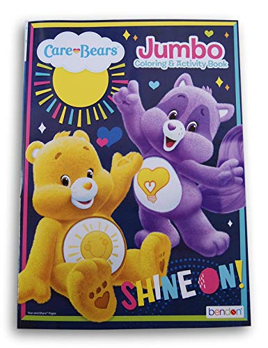 Lazy Days Care Bears Shine On Coloring Activity Book - 96 Pages