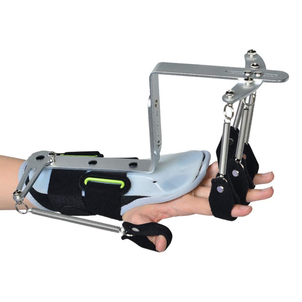 HEALLILY アジャスタブル指手首装具手指副木手首訓練装置指の訓練 B07TTLTFCC