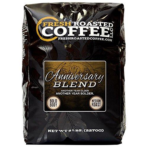 Anniversary Artisan Mingle, Whole Bean Coffee, Fresh Roasted Coffee LLC. (5 lb.)