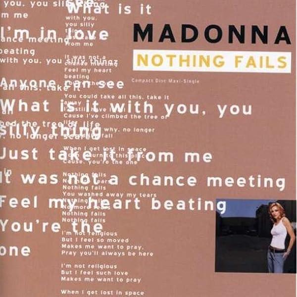 Nothing Fails : Madonna: Amazon.es: Música