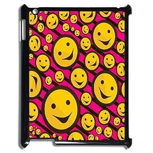 Custom Funny emoticons Case for iPad 2,iPad 3,iPad 4, DIY Funny emoticons Ipad 2 Phone Case, Funny emoticons iPad 3 Case Cover