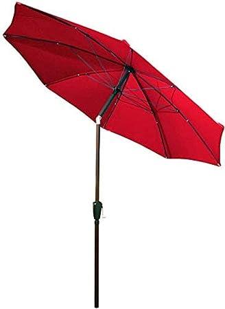 Protector Solar Paraguas de Sol al Aire Libre Jardín sombrilla Paraguas a Mano Paraguas Sombra de 2,7 Metros de Muebles Paraguas Paraguas Grande Proteccion: Amazon.es: Equipaje