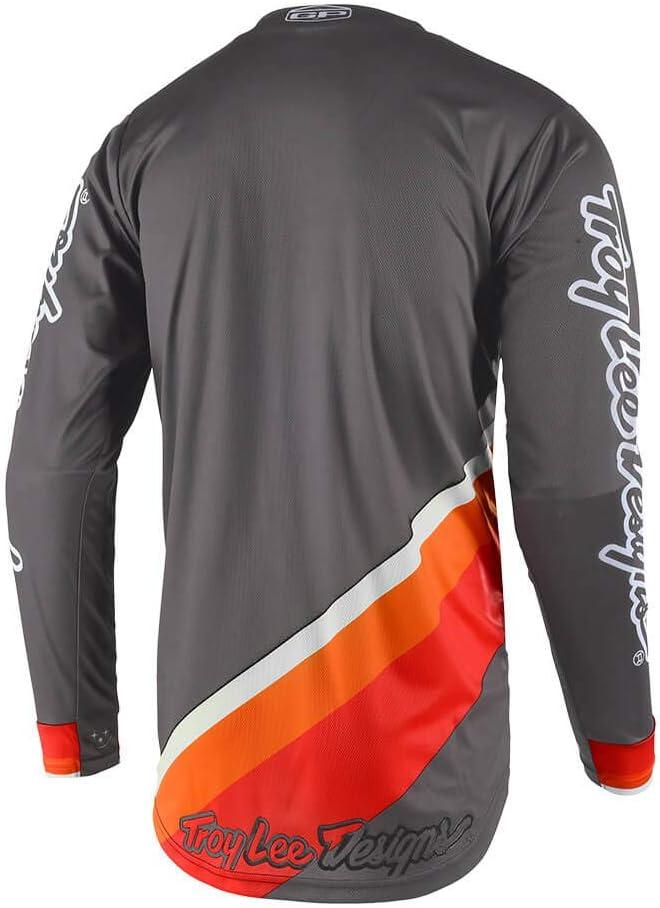Gray, Small Troy Lee Designs Mens Off-Road Motocross GP Prisma 2 Jersey