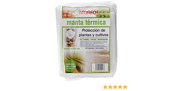 Maiol MA160 - Manta térmica 1, 60 x 10 m.: Amazon.es: Jardín