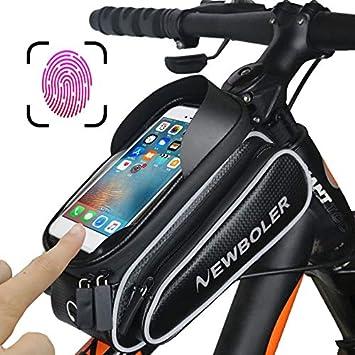 Amazon.com: FUMING - Bolsas para bicicleta, marco para ...