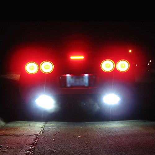 Corvette 80 Watt Reverse LED Conversion Kit : 2005-2013 C6, Z06, ZR1, Grand Sport