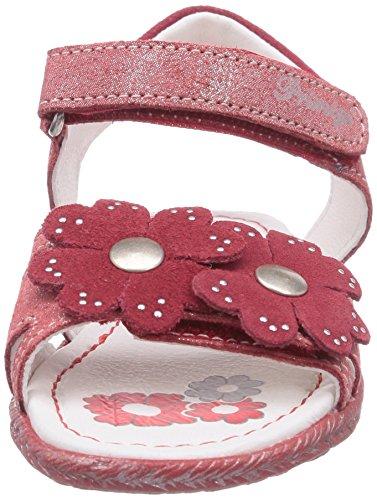 Primigi LAUREL - sandalias abiertas de cuero niña rojo - Rot (TULIPANO/ROSSO)