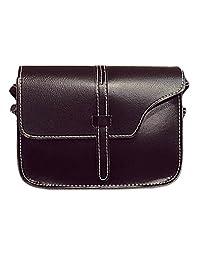 Bessky® Women Girl Shoulder Bag Faux Leather Satchel Crossbody Tote Handbag