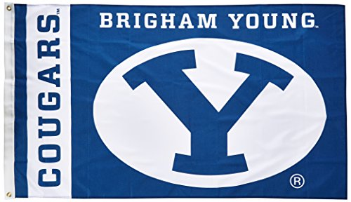 NCAA Brigham Young Cougars 3-by-5 Foot Flag With Grommets ()