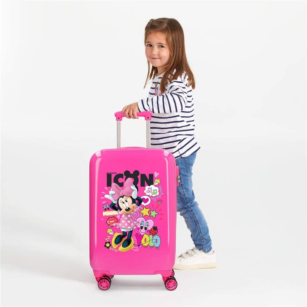 Rosa 55 cm Disney Happy Helpers Equipaje Infantil 33 litros