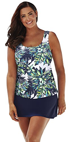 Beach-Belle-Womens-Plus-Size-Lulav-Classic-Skirtini-22-Blue