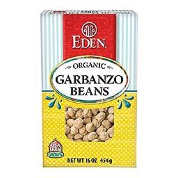Garbanzo Beans (chick peas), Organic - Dry - 1 lb, (Pack of 4)