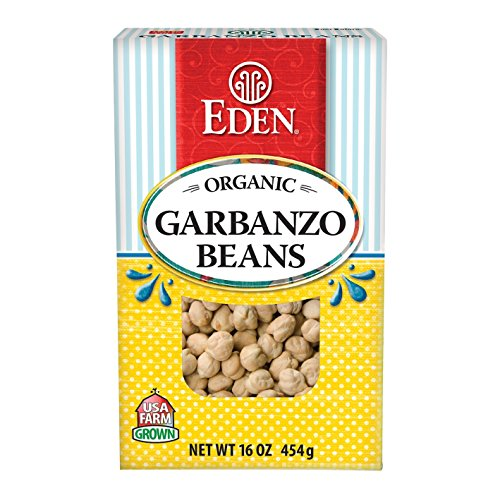 Garbanzo Beans (chick peas), Organic - Dry - 1 lb, (Pack of 10) by Eden