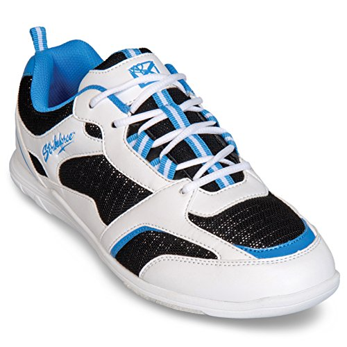 10 US weiß KR Bowling Spirit Strikeforce M Light shoes schwarz blau Damen PqaPwH