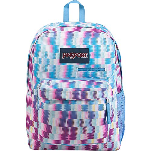 JanSport Digibreak Laptop Backpack- Sale Colors (Jagged Plaid)