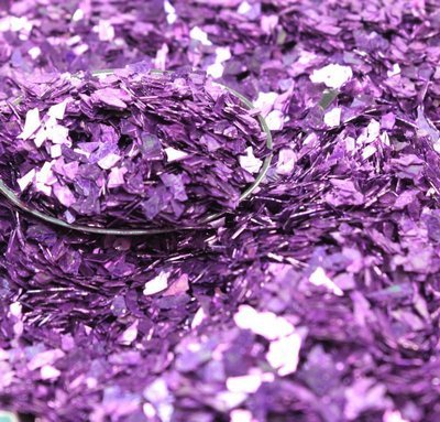 Lilac Authentic Imported German Super Shard Glass Glitter - Largest Grain Size - - 40 Glitter