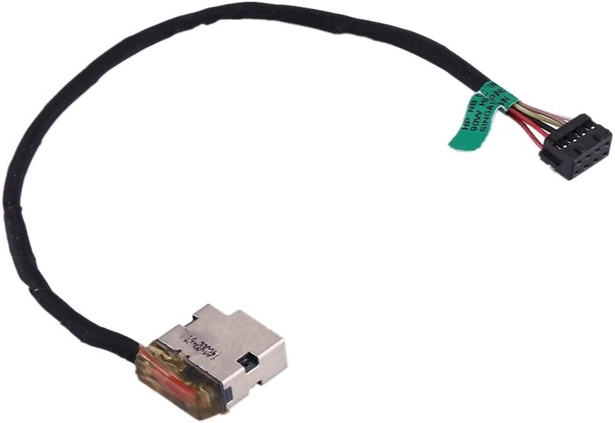 ICHIPS New Replacement DC Power Jack Connector Flex Cable for HP Pavilion 15//15-e /& 17//17-e for Repair