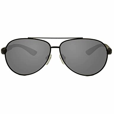 129f163a91 Image Unavailable. Image not available for. Color  KZ Large Evolution  Aviator Polarized Sunglasses for Men and Women (Black Metal Frame ...