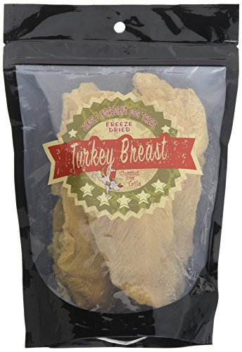 Chasing Our Tails 2878 Freeze Dried Turkey Breast Pet Treat, 3.5 Oz