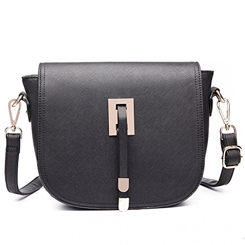 Handbag Satchel Shoulder Bag Faux Messenger Faux Saddle Leather Leather Hwp4q4