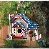 Smart Living Company 10015282 Patriotic Birdhouse