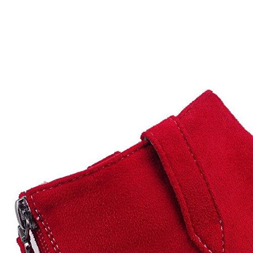 AllhqFashion - Cerrado Mujer Rojo