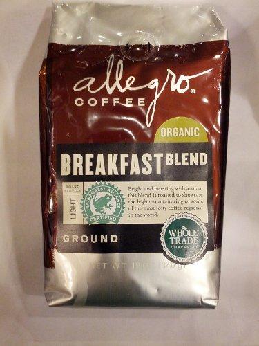 Allegro Coffee Organic Breakfast Ground