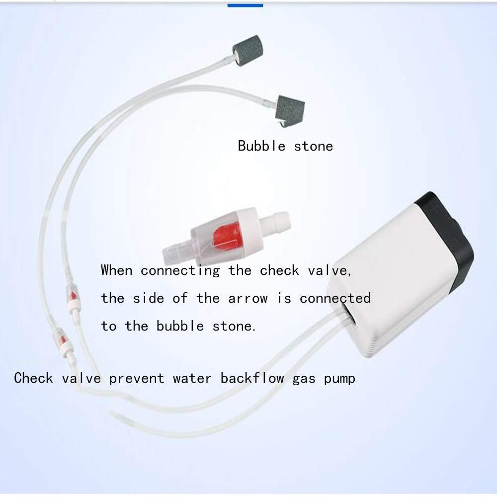 SISHUINIANHUA Silent Oxygen Pump Fish Tank Aeration Pump Fish Aerator Large Household Oxygen Machine Oxygenator Oxygenator,Red by SISHUINIANHUA (Image #7)