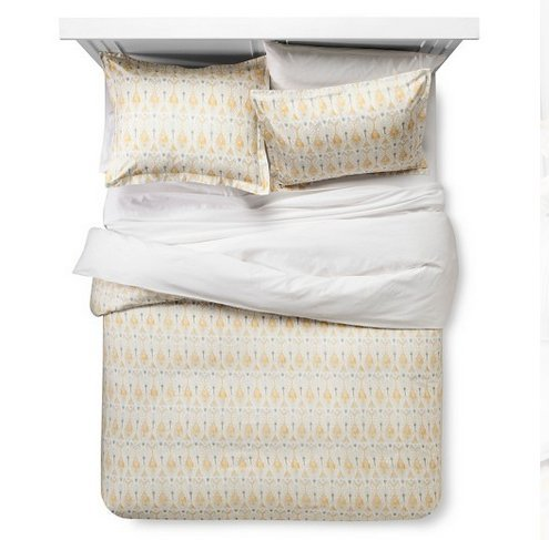 Global Ikat Duvet & Sham Set - Threshold (Full/ Queen) (Duvet Cover Koko)
