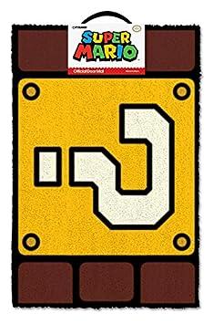 Super Mario Question Mark Block Door Mat 40x60cm GP85084