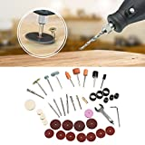 Rotary Tool Kit,SHZONS 40PCS Variable Speed Rotary Tool Kit,Versatile Cutting,Engraving,Grinding,Sanding Lightweight,Handheld Precision for Less Vibration,More Control