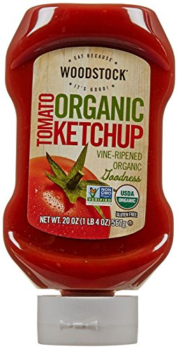 Woodstock Farms Organic Tomato Ketchup - 20 Ounces