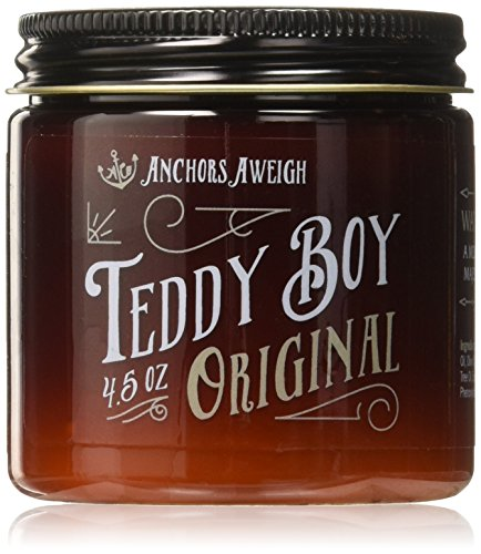 Anchors Hair Company Teddy Boy Original Water Based Styling Pomade (4.5 Oz) -