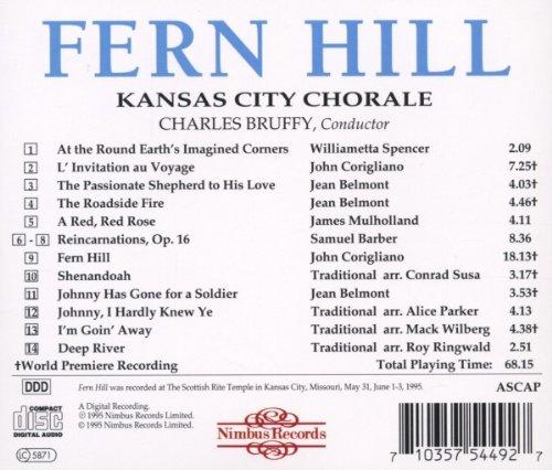 Fern Hill: American Choral Music