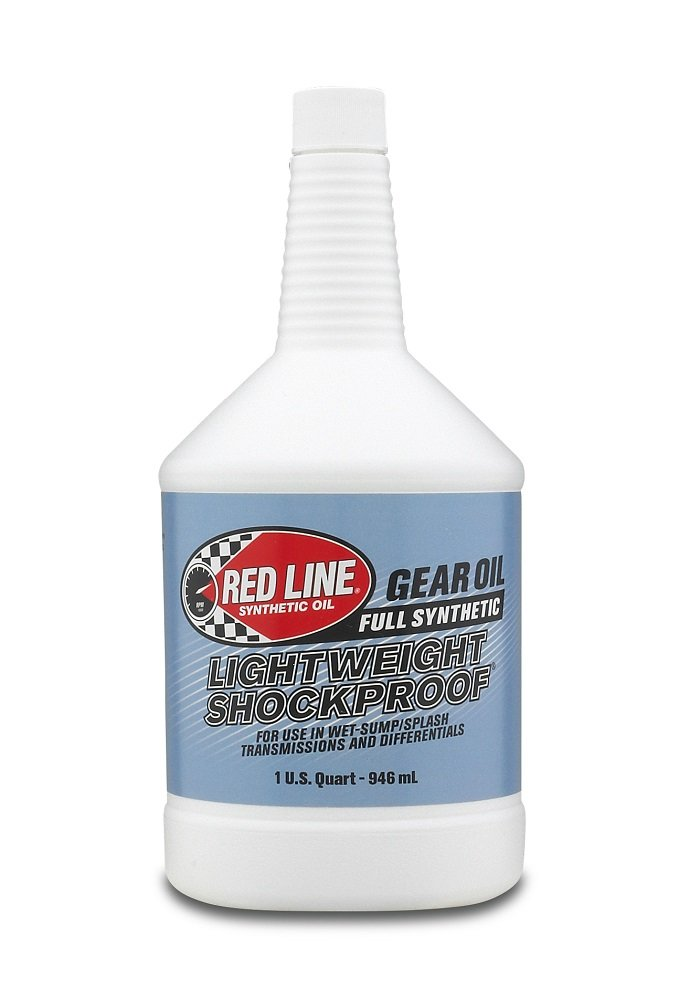 Red Line 58404 Lightweight Shockproof Gear Oil - 1 Quart Bottle RED58404