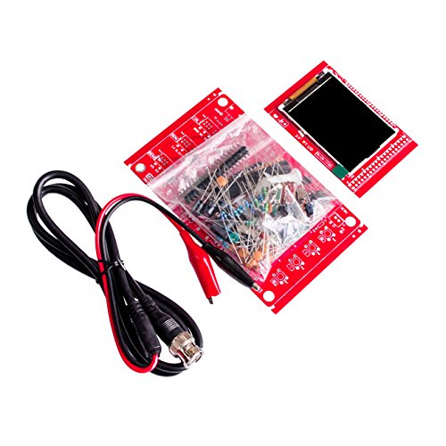 Seajunn DIY Digital Oscilloscope Kit osciloscopio Electronic Learning Kit DSO138 kit 2.4