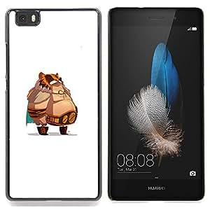 Stuss Case / Funda Carcasa protectora - Jefe de grasa - Huawei Ascend P8 Lite (Not for Normal P8)