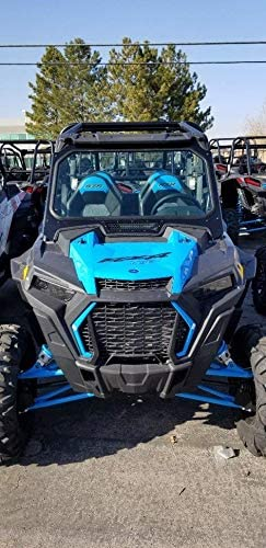 XP 1000 With Wiper POLARIS RZR XP TURBO Polaris RZR FULL GLASS WINDSHIELD FOR 2019 Black with Black mesh