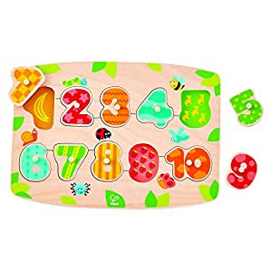 Hape Number Peg Puzzle - All Ages