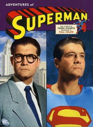 - Adventures of Superman: The Complete Third & Fourth Seasons