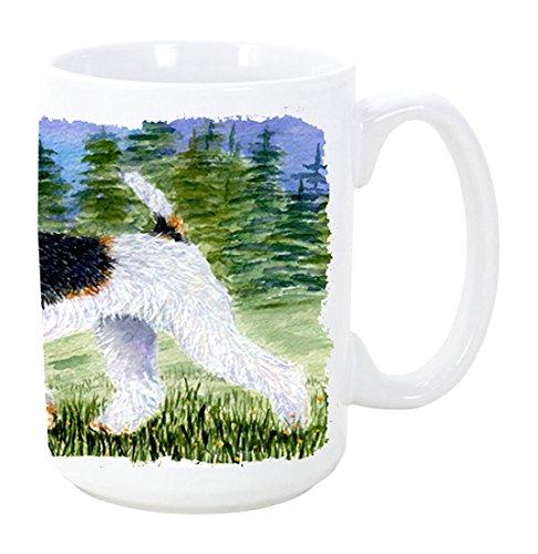 15 oz Carolines Treasures SS8599CM15 Fox Terrier Dishwasher Safe Microwavable Ceramic Coffee Mug Multicolor