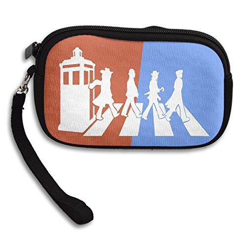 Doctor Who Tardis Cellphone Bag / Wristlet Handbag / Clutch Purse / Wallet Handbag With Wrist Band For Adults And Kids