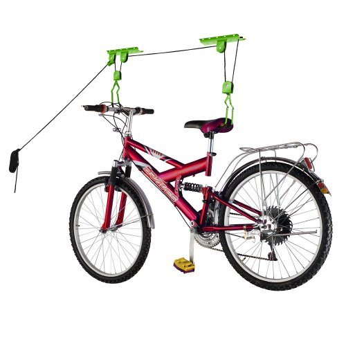 2009 Bike Lane Bicycle Garage Storage Lift Bike Hoist 100LB Capacity Heavy Duty (Hoist Bike Pulley System)