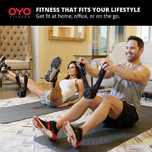 OYO Personal Gym - Full Body Portable Gym Equipment Set for Exercise at Home, Office or Travel - SpiraFlex Strength Training Fitness Technology - NASA Technology 5