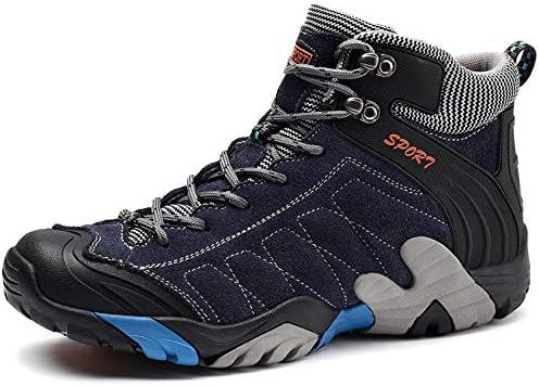 828467290c7dd SINOES Zapatillas Botas Profesionales de Cuero para Hombres Especialmente  diseñados para Senderismo Trekking montaña Deportes al Aire Libre A Prueba  de ...