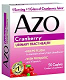 Cheap AZO All Natural Concentrated Cranberry Tablets, 50 Count (Pack of 3)