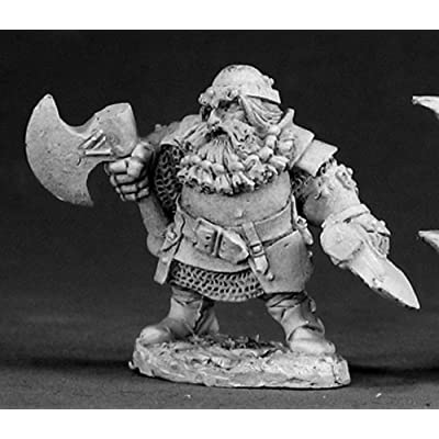 Hagar - Dwarven Hero MINT/New: Toys & Games