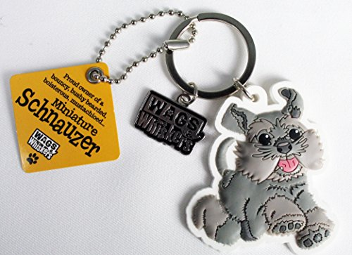 Wags and Whiskers Siberian Huskies Key Chain with Keyring//Key Holder 886767145716